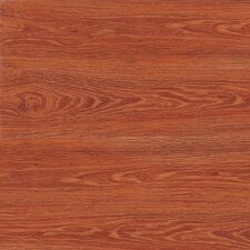 "Metro Design Wood 4"" X 36"" Vinyl Plank in Golden Oak"