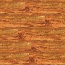 "Solidity 20 Century 4"" x 36"" Vinyl Plank in Classic Walnut"