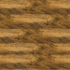 "Solidity 20 Century 4"" x 36"" Vinyl Plank in Distressed Walnut"