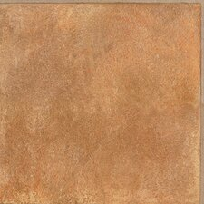 "Solidity 30 Moroccan Sandstone 16"" x 16"" Vinyl Tile in Sunset"