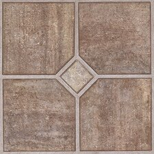 "Solidity 30 Venetian Travertine 24"" Vinyl Tile in Rome"