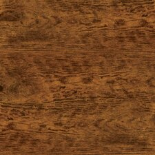 "Solidity 40 Handscraped 6"" x 36"" Vinyl Plank in Aged Chestnut"