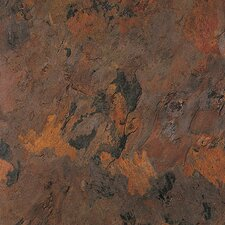 "Solidity 40 Slate 16"" x 16"" Vinyl Tile in Acropolis"
