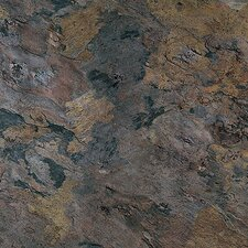 "Solidity 40 Slate 16"" x 16"" Vinyl Tile in Sicilia"
