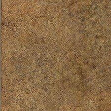 "Solidity 30 Appalachian Stone 16"" x 16"" Vinyl Tile in Cliff"