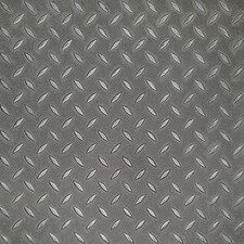 SAMPLE - Metro Design Textured Metallic Tile Vinyl Tile in Pewter
