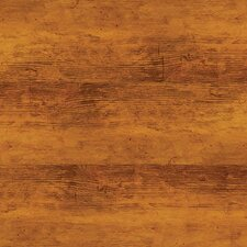 SAMPLE - Solidity 40 Handscraped Plank Vinyl Plank in Aged Walnut