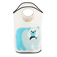 <strong>3 Sprouts</strong> Polar Bear Laundry Hamper
