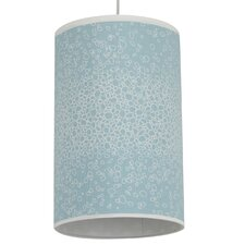 Raindrops Cylinder Light in Aqua