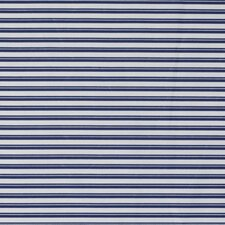 Crib Sheet- Stripe Cobalt