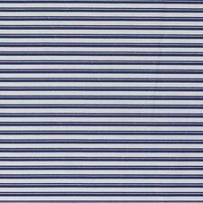Crib Sheet- Stripe Cobalt