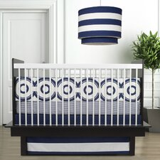 <strong>Oilo</strong> Wheels 3 Piece Crib Bedding Set