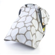 Cobblestone Reversible Car Seat Canopy