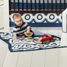 Wheels Crib Skirt