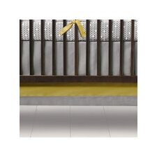 Triple Band Crib Skirt