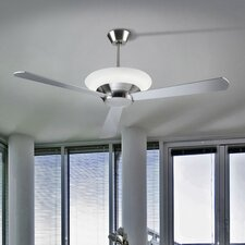 Toronto One Ceiling Fan in Satin Nickel