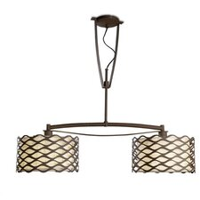 Alsacia 2 Light Ceiling Light