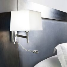 Bristol 3 Light Swing Arm Wall Lamp with Reading Light