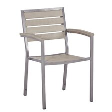 Syn-Teak Macchiato Stackable Bistro Chair