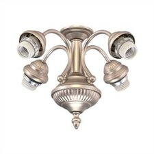 Fancy Four Light Ceiling Fan Fitter