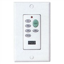 Ceiling Fan Battery Powered Wall Mounted Remote Control (Transmitter Only)