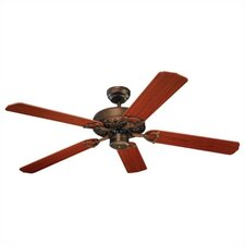 "52"" Ornate 5 Blade Ceiling Fan"