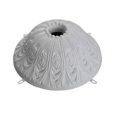 Royal Danube Style Medallion Dome Cover Ceiling Fan