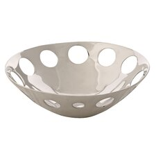 Handmade Decorative Circles Seving Bowl