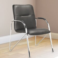 Workspace Mid-Back Conference Chair with Arms (Set of 4)