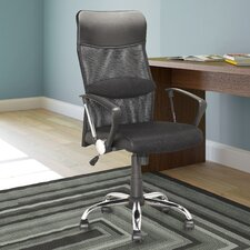 Workspace Height-Back Mesh Executive Office Chair with Arms