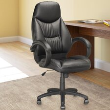 Workspace High-Back Executive Office Chair with Arms