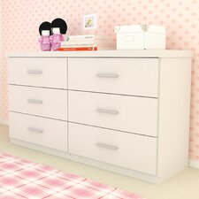 <strong>dCOR design</strong> Willow 6 Drawer Dresser