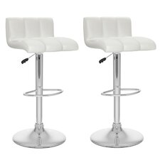 CorLiving Adjustable Bar Stool (Set of 2)