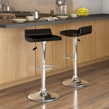 <strong>dCOR design</strong> CorLiving Adjustable Bar Stool (Set of 2)