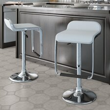 <strong>dCOR design</strong> CorLiving Adjustable Bar Stool with Cushion (Set of 2)