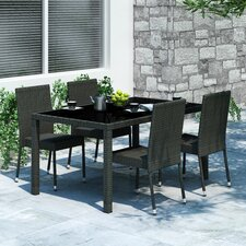 <strong>dCOR design</strong> Park Terrace 5 Piece Dining Set
