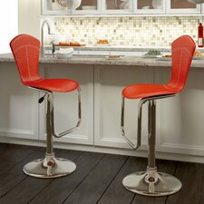 CorLiving Tapered Back Adjustable Barstool (Set of 2)