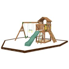 Eagle Point Swing Set with Play Zone Components