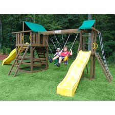 Mt. Everest Wooden Swing Set