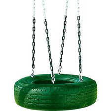 <strong>Playtime Swing Sets</strong> Single Axis Tire Swing