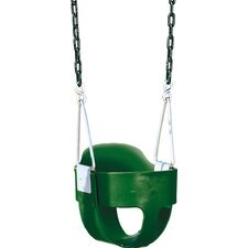 <strong>Playtime Swing Sets</strong> Bucket Toddler Swing Seat with Chain