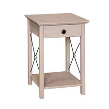 Pembroke 1 Drawer Bedside Table