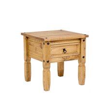 Corona Side Table I in Pine