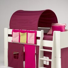 Kids Midsleeper Side Hanger with Three Pockets in Pink