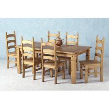 Corona 7 Piece Dining Set