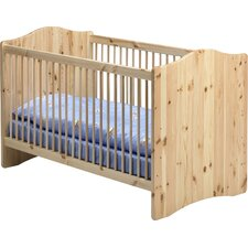 Kids Cot in Natural Lacquer