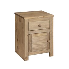 Hacienda 1 Drawer Bedside Table