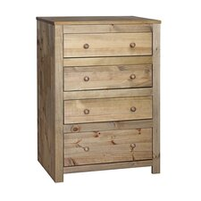 <strong>Home Essence</strong> Hacienda 4 Drawer Chest