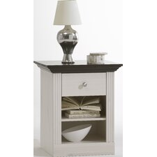 Riviera 1 Drawer Bedside Cabinet