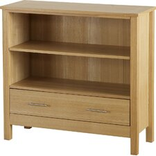 Oakleigh 1 Drawer Low Bookcase